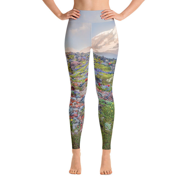 Spray Park Yoga Leggings