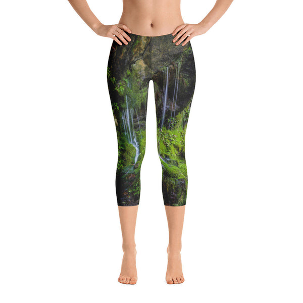 Rainforest Love Capri Leggings