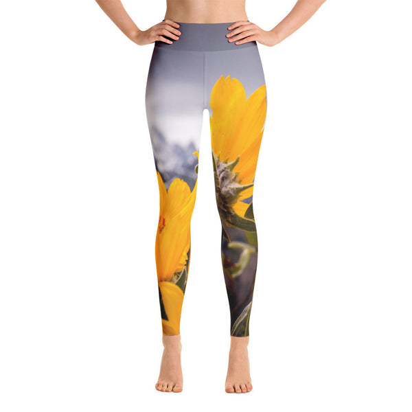 It's Time To Blossom Yoga Leggings