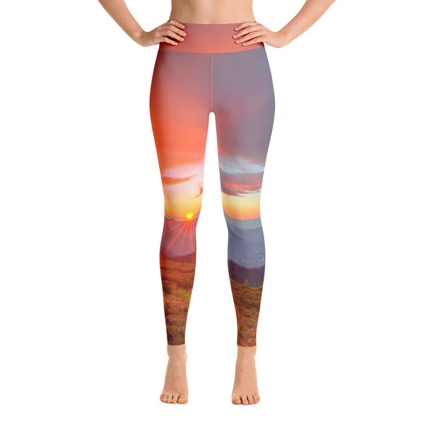 Sun Salutations Yoga Leggings