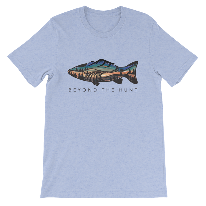 Trout Sunset Tee