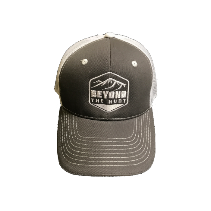 Beyond The Hunt Crest Hat - Smoke Grey