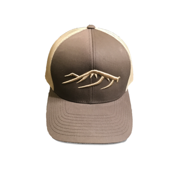 BTH Antler Hat - Grizzly Brown