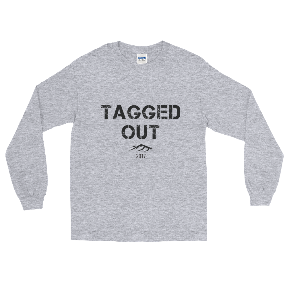 """TAGGED OUT"" Limited Edition Long Sleeve T-Shirt"