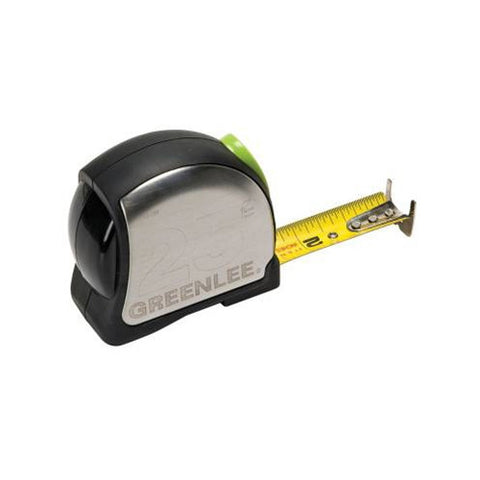 "Greenlee 0155-25A Tape Measure Double-Sided 1"" x 25'"