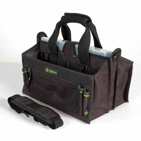 Greenlee 0158-19 Tool Carrier Bag with Part Bin