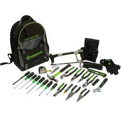 Greenlee 0159-28BKPK 28 Piece Backpack Tool Kit