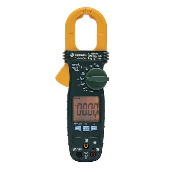 Greenlee CMH-600 600A HVAC Clamp Meter, AC True RMS