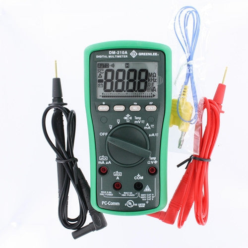 Greenlee DM-210A Digital Multimeter