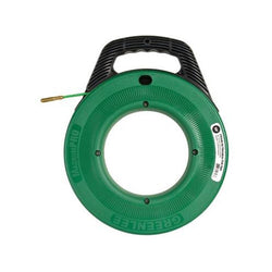 "Greenlee FTF540-50 MagnumPro Fiberglass Fish Tape with Case 11/64"" x 50'"