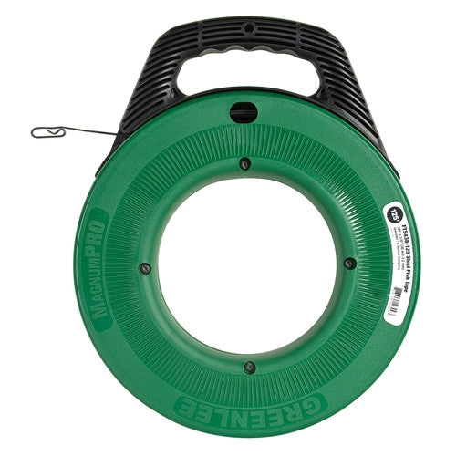 Greenlee FTS438-125 MagnumPro 1/8in x 125ft Steel Fish Tape with Case