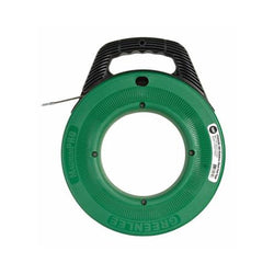 "Greenlee FTSS438-100 MagnumPro Stainless Steel Fish Tape with Case 1/8"" x 100'"