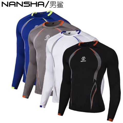Compression Base Layer Tight Top Shirt Under Skin Long Sleeve | Towish-shop