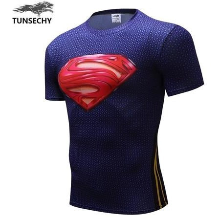 Compression Shirt Marvel Superhero 3D Funny T-Shirt | Towish-shop