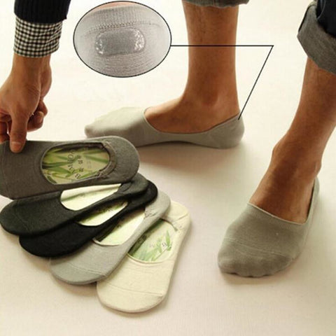 Men's Compression sock slippers Bamboo fibre 5pairs/lot | Towish-shop