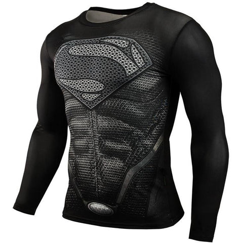 MMA Compression Shirt - Bodybuilding Long Sleeve Crossfit | Towish-shop