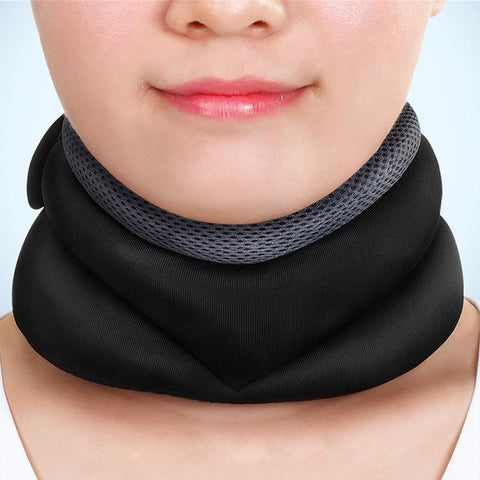 Neck Traction Protecting Head Back - Cervical Pain Brace Support | Towish-shop