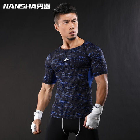 Compression Quick Dry Crossfit Lycra Tops - short sleeve | Towish-shop