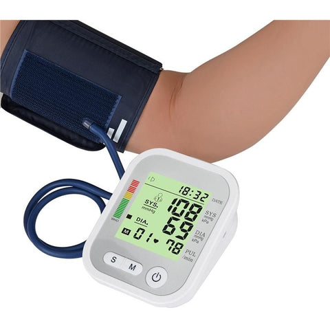 Automatic Digital Arm Wrist Blood Pressure Monitor | Towish-shop