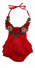 The Crimson Rose Romper