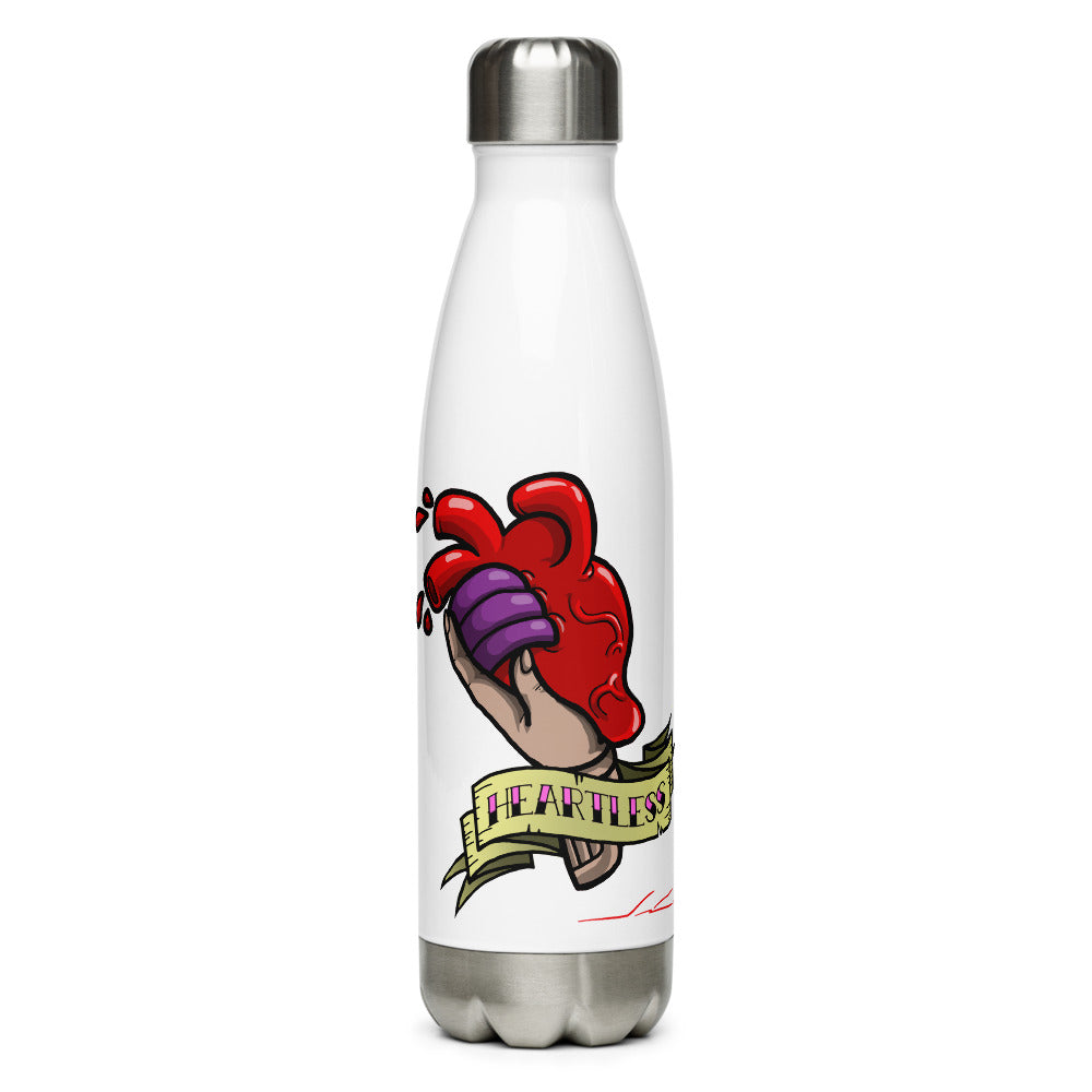 Heartless Stainless Steel Water Bottle