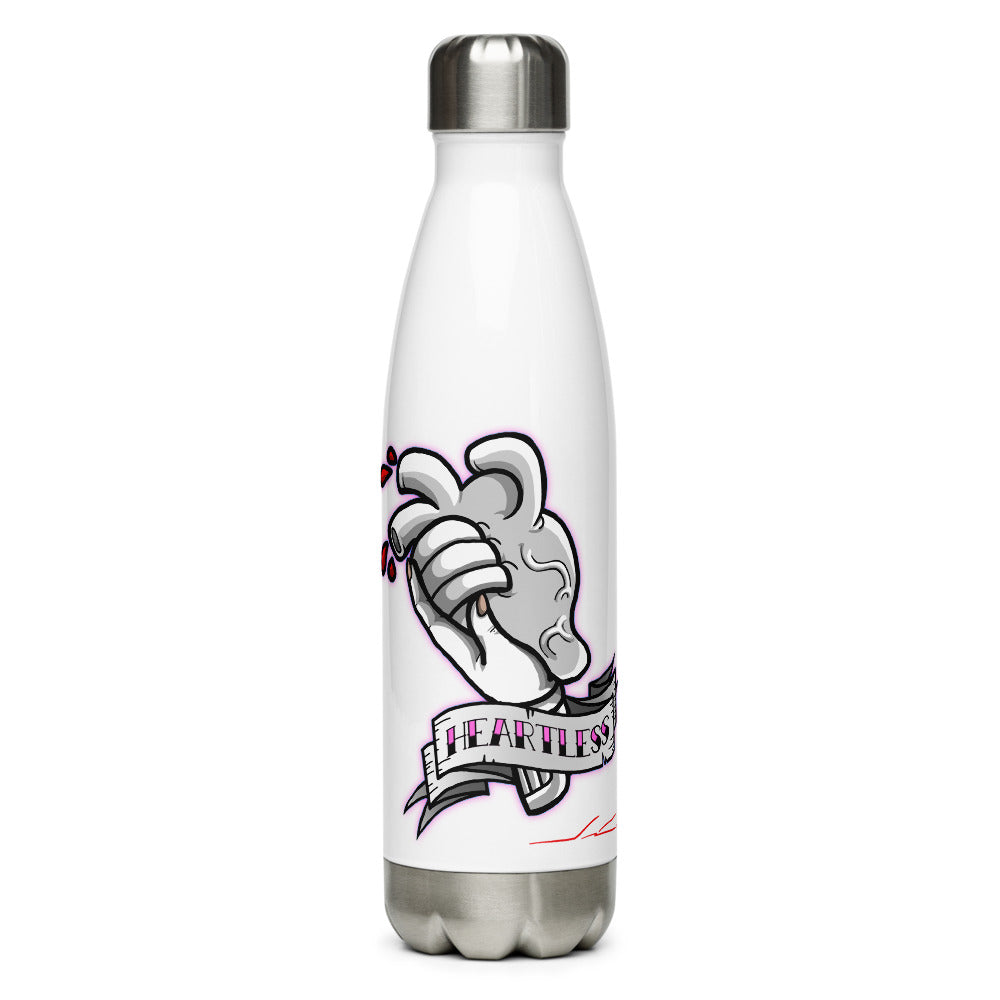 Heartless BW Stainless Steel Water Bottle