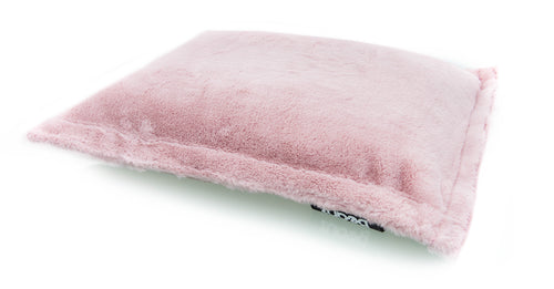 Beanz | Faux Fur | Bean Mat | Dusty Pink