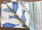 Tropical Fish ☆ Full/Queen Quilt Set ☆ 4-pc
