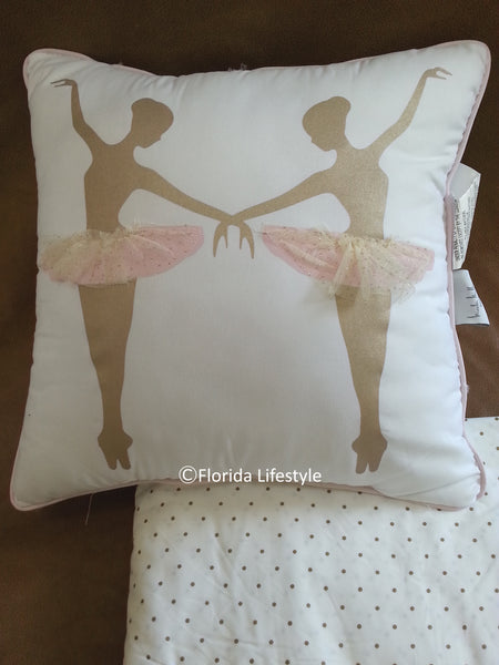 Ballerina Dancers ❤ Twin Comforter + Sheet Set ❤ 6-pc