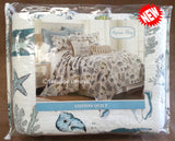 ☆ Tropical Marine Life ☆ King Quilt Set ☆ 4-pc