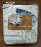Tropical Marine Life ☆ Twin Quilt Set ☆ 2-pc
