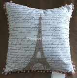 I Love Paris ❤ Full/Queen Comforter Set with Coverlet ❤ 7-pc