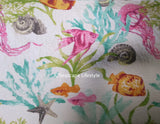 ☆ Tropical Marine Life ☆ King Quilt Set ☆ 3-pc
