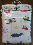 Airplanes & Jets ☆ Full/Queen Quilt Set ☆ 3-pc