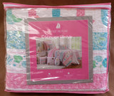 Mermaid Kisses ☆ Twin Quilt with Pillow ☆ 4-pc
