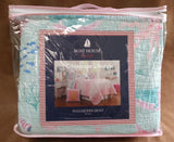 Mermaid Sealife ☆ Full/Queen Quilt with Pillows ☆ 3-pc