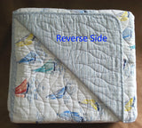 ☆ Sailboats ☆ Full/Queen Quilt Set ☆ 3-pc