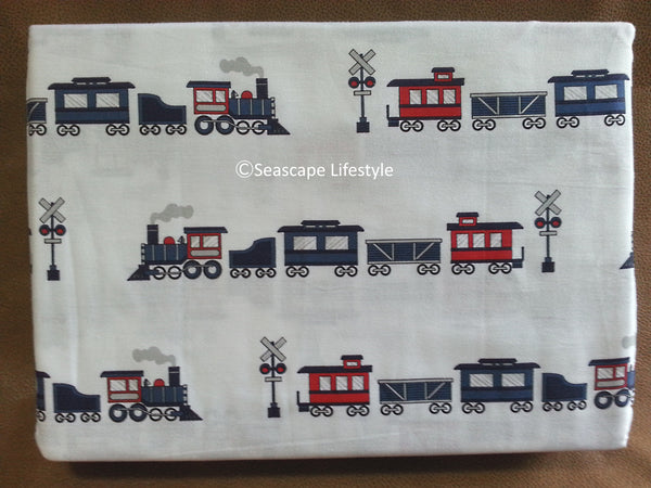 Choo Choo Trains  ☆ Twin Sheet Set ☆ 3-pc