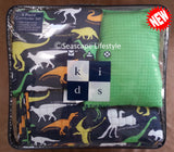 I Love Dinosaurs ❤  Twin Comforter Set with Coverlet ❤ 5-pc