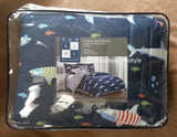 Awesome Sharks ☆ Twin Comforter Set ☆ 4-pc