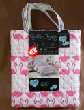 ☆ Tropical Flamingos ☆ Twin Quilt ☆ 2-pc