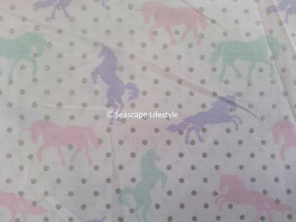 Girls Love Unicorns ❤ Full Sheet Set ❤ 4-pc