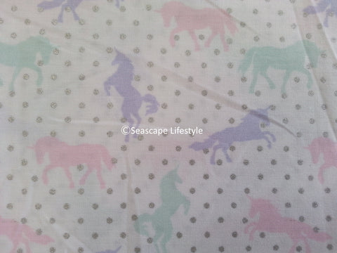 Girls Love Unicorns ❤ Twin Sheet Set ❤ 3-pc