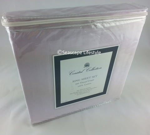 Lavender Solid ☆ King Sheet Set ☆ 4-pc