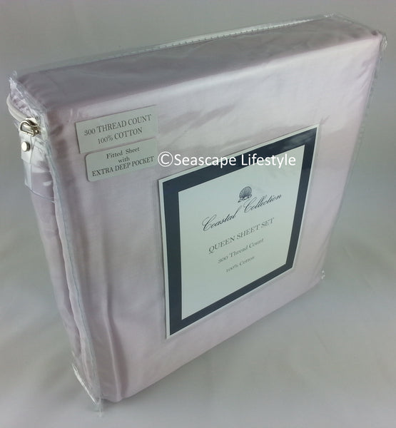 Lavender Solid ☆ Queen Sheet Set ☆ 4-pc