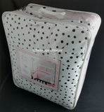 Pink w/ Black Polka Dots ❤ Full/Queen Comforter Set ❤ 3-pc