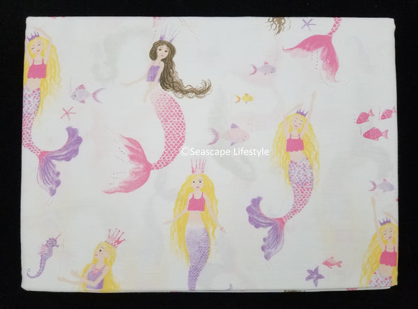 Mermaid Princess ❤ Twin or Full Sheet Set ❤ 3-pc or 4-pc