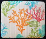 Tropical Reef Fish ☆ Twin Quilt ☆ 2-pc