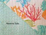 Tropical Reef Fish ☆ King Quilt ☆ 3-pc
