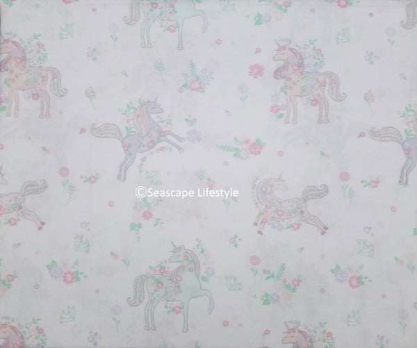 Prancing Unicorns ❤ Full Sheet Set ❤ 4-pc